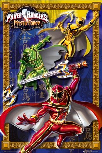 Power Rangers Mystic Force Mystic Training Online Game